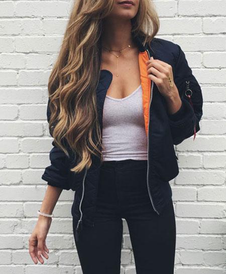 bomber jacket #outfit | Lovika