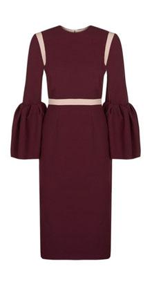 Pretty Bell Sleeve Dress #Roksanda | Lovika