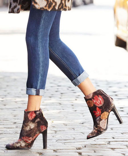 Joie Velvet Ankle Boots #Booties