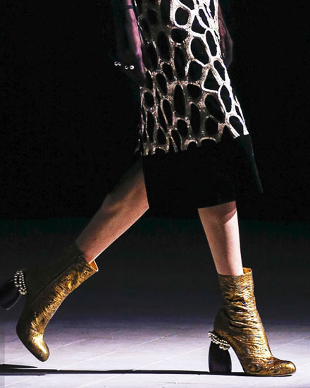 6a7e3c9025 Dries van Noten Ankle Boots Are So Cool!