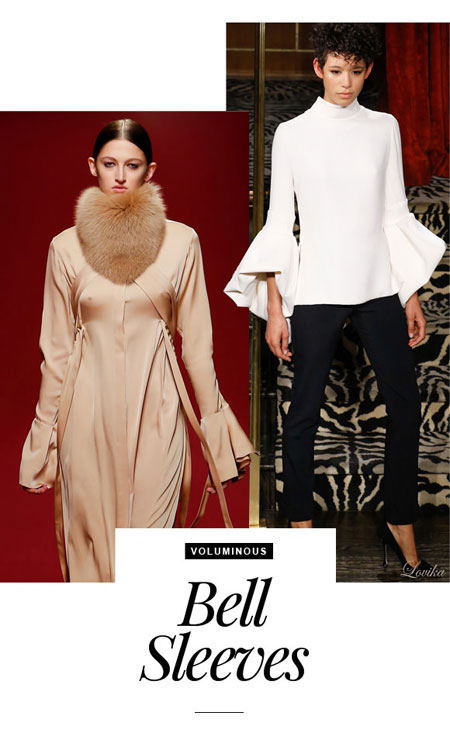 Fall Fashion Trends Bell Sleeves
