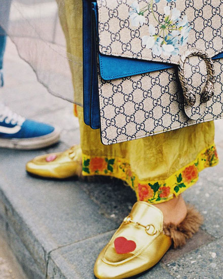 LOVIKA | Gucci street style #fashion #inspiration