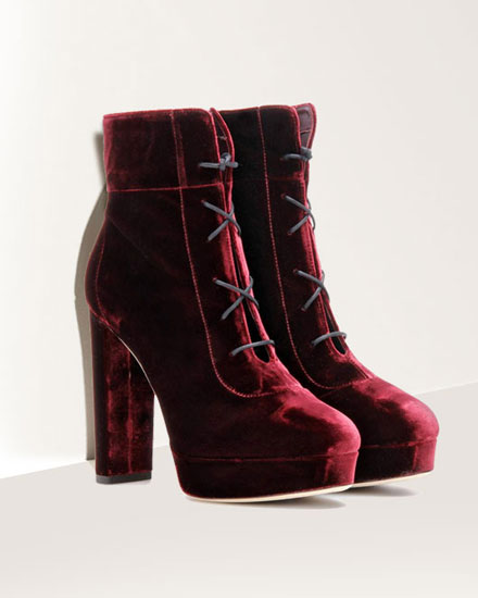 LOVIKA CLOSET | Velvet ankle boots #booties
