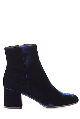 Gianvito Rossi Velvet Ankle Boots #Booties
