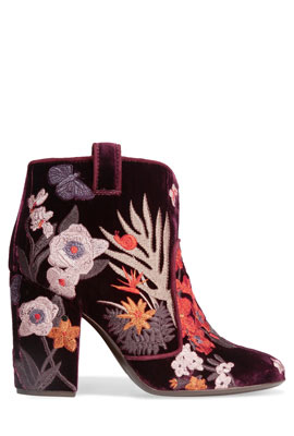 Laurence Dacade Velvet Ankle Boots #Booties