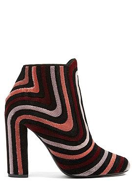 Salvatore Ferragamo Velvet Ankle Boots #Booties