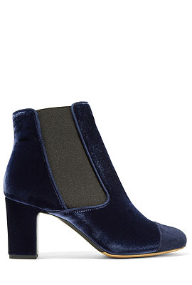 Tabitha Simmons Velvet Ankle Boots #Booties