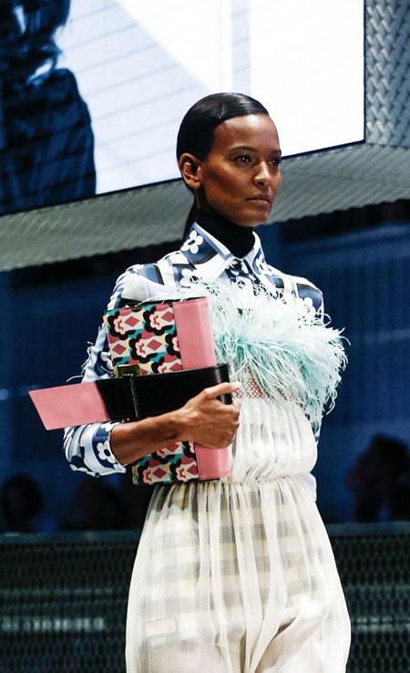 Prada Spring-Summer 2017 Ready-To-Wear Collection | Lovika.com #Runway