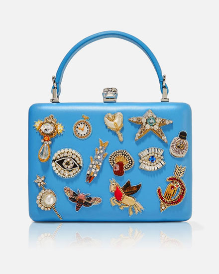 Lovika List: McQueen Charm Box Clutch