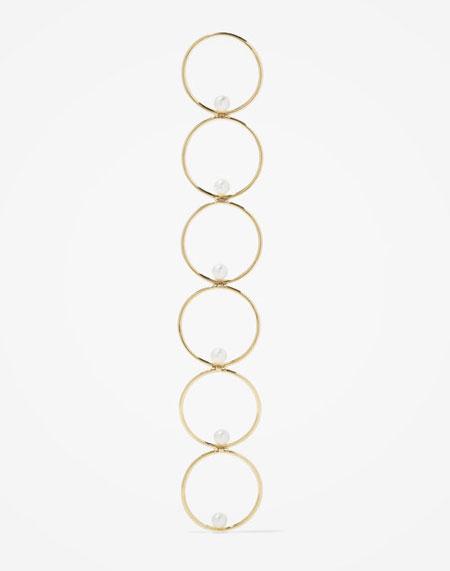 Anissa Kermiche Pearl + 14k Gold Earring | Lovika