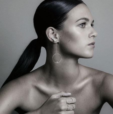 Anissa Kermiche Pearl Earring