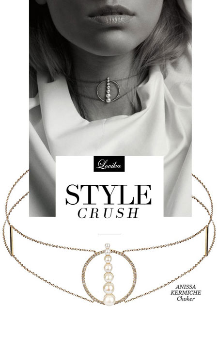 Style Crush: Anissa Kermiche Delicate Jewelry Collection | Lovika