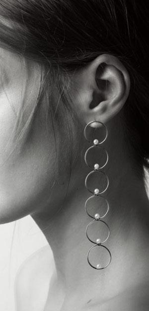 Anissa Kermiche Pearl Drop Earring