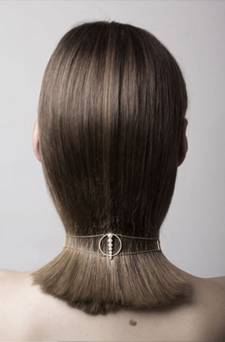 Anissa Kermiche Pearl Choker Necklace