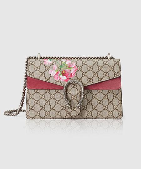Gucci Dionysus Pink Floral Shoulder Bag