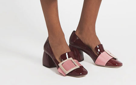 Miu Miu Bucked Loafers