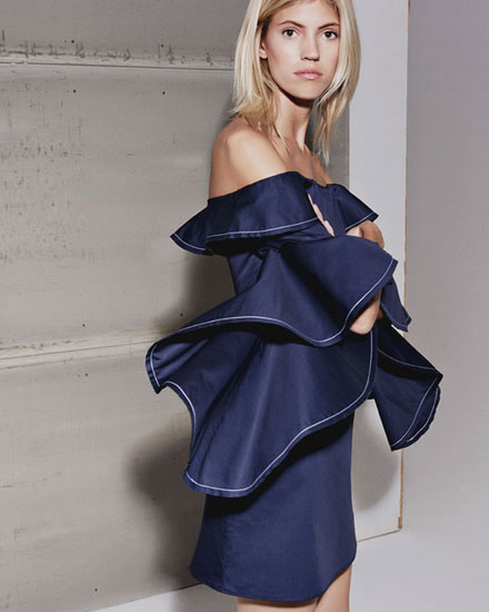LOVIKA | Alexis Fall 2016 Lookbook #off the shoulder # dresses