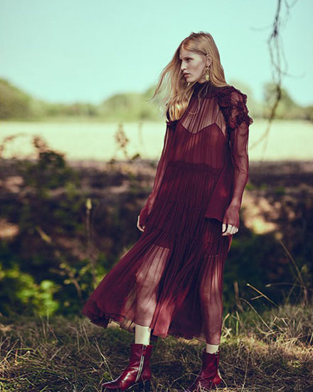 LOVIKA | Chloe Fall fashion editorial #lookbook #inspiration