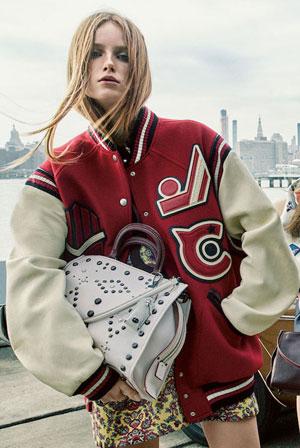 Coach Varsity Bomber Jacket #Fall #Winter | Lovika