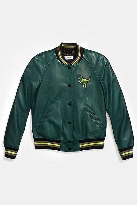 Coach Bomber Jacket #Green