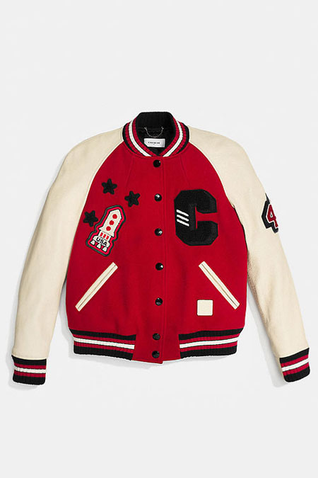 Coach Bomber Jacket #Red