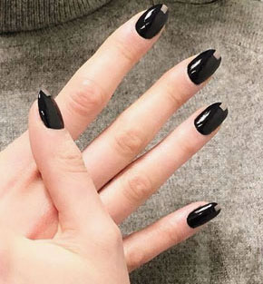 Fall Nail Art Ideas Designs #colors #nails | Lovika
