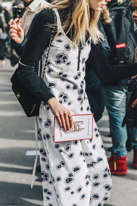How to wear slip dress trend #outfit #OOTD   Lovika