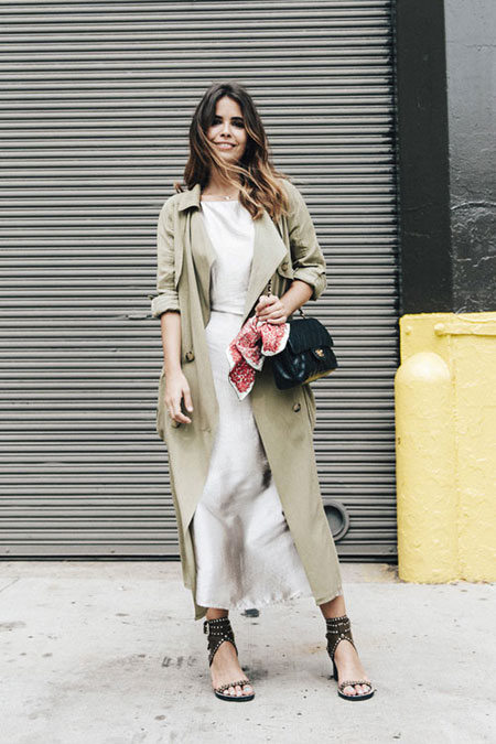 How to wear slip dress trend #outfit #OOTD | Lovika