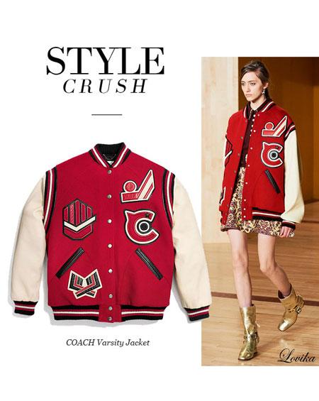 Style Crush: Coach Varsity Jacket
