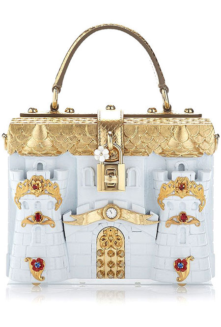 Dolce & Gabbana Castle Box Clutch
