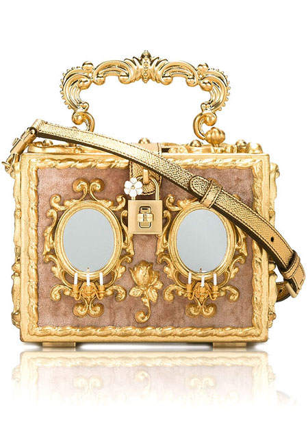 Dolce & Gabbana Baroque Box Clutch