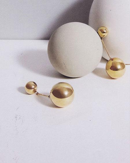 Style Crush: JW Anderson Sphere Drop Earrings
