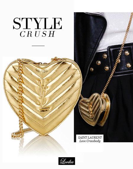 Lovika Style Crush - Saint Laurent Love Crossbody