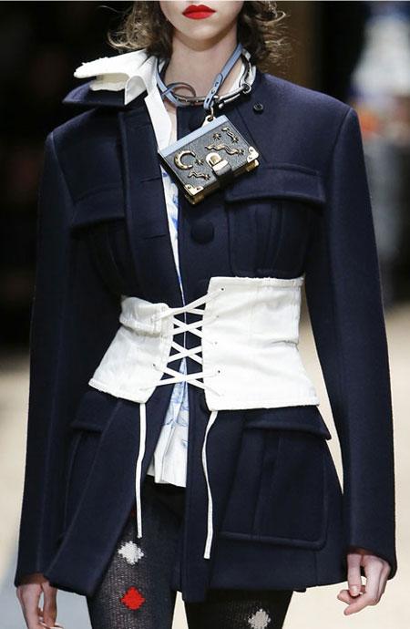 Trending: The Corset Effect | Lovika.com #Prada