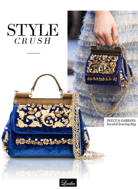 Style Crush Dolce Gabbana Jeweled Evening Bags | Lovika.com