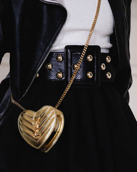 LOVIKA | Saint Laurent Heart bag #crossbody