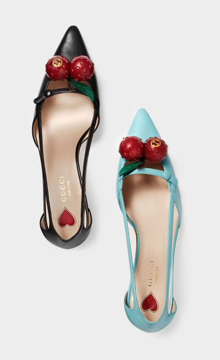 Style Crush: Gucci Cherry Pumps | Lovika.com