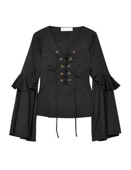 Best Designer Bell Sleeve Tops | Lovika.com