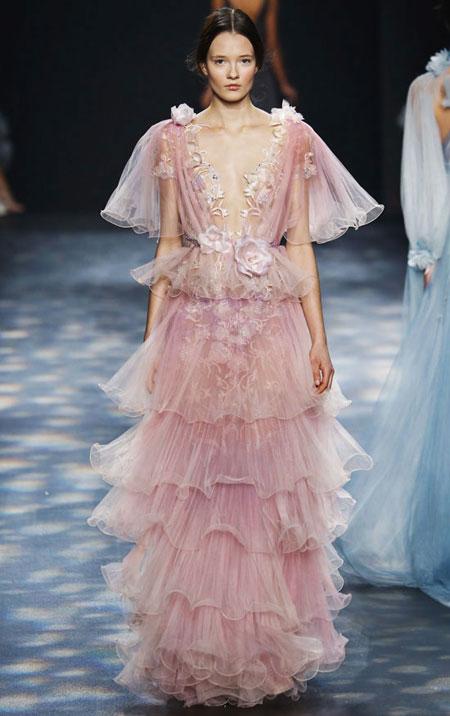 20 Stunning Gowns from Marchesa Fall 2016 Runway | Lovika.com