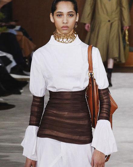 LOVIKA | Fashion trends - fit& flare corset effect #runway #fw16