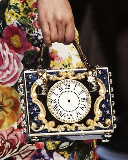 LOVIKA | Style Crush - Dolce & Gabbana cinderalla evening clutch bags #runway