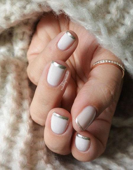 50 Beautiful Winter Nails Art & Design Ideas | Lovika.com