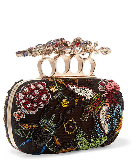 Designer Sale Must-Have: Alexander Mcqueen Knuckle Clutch | Lovika.com