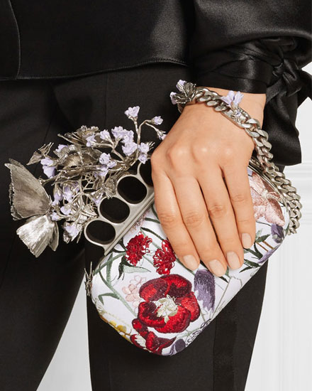Designer Sale Must-Have: These 5 McQueen Knuckle Clutches