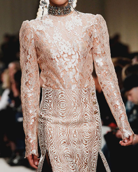 LOVIKA | Designer Sale - Lanvin lace dresses and blouses