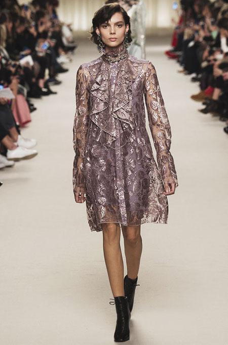 Lanvin Sheer Lace Dress | Lovika