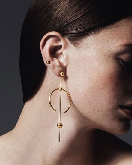 LOVIKA | Style Crush: Maria Black Earrings