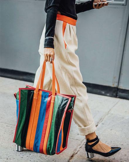 8e53516e3 Style Crush: Balenciaga Bazar Shopper Totes