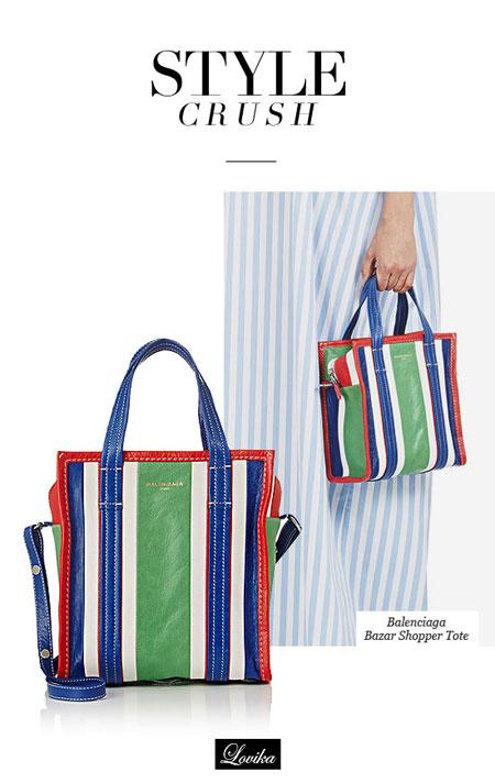 Style Crush - Balenciaga Bazar Shopper Tote