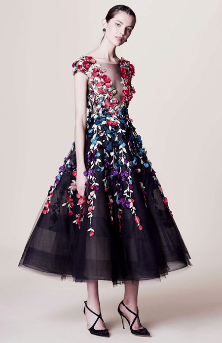 Dress by Marchesa Pre-Spring 2017 | Lovika